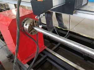 2017 Ny bærbar type Plasma Metal Pipe cutter machine, CNC metal tube cutting machine