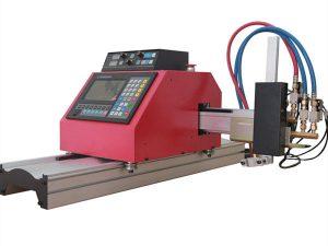Multifunksjonell firkantet stålrørprofil CNC FlamePlasma skjæremaskin med høy kvalitet