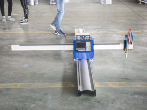 Ny teknologi bærbar type cnc plasmaskjæremaskin pris for småbedrifter tilvirkningsmaskiner