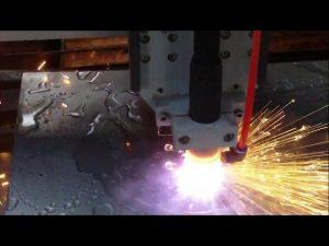 cnc plasma flamme skjæremaskin med vannkjøling for varmt salg