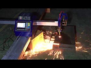 lavpris mini bærbar cnc rørflamme plasma skjæremaskin for skjæring av rustfritt stål i metall