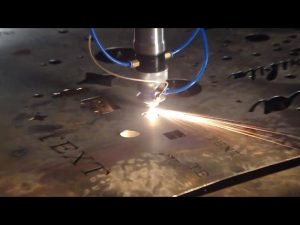 laget i Kina handel forsikring billig pris bærbar kutter cnc plasma skjæremaskin for rustfritt stål metalljern