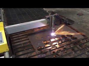 bærbar cnc flameplasma skjæremaskin med hypertherm 45